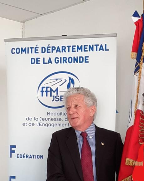 Mr Jean DAIGNEAU - Président du CDMJSEA 33